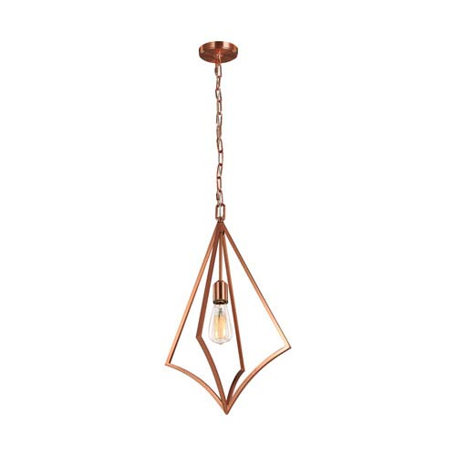Feiss Nico Copper 14-Inch One-Light Pendant