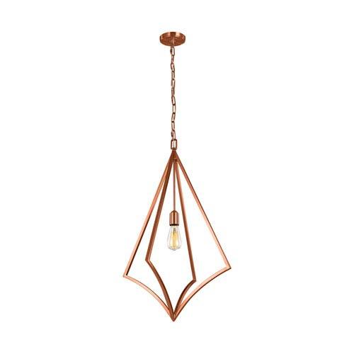 Nico Copper 19-Inch One-Light Pendant