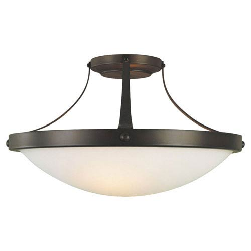 Feiss Boulevard Semi-Flush Ceiling Light
