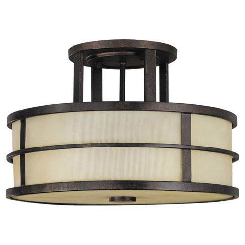 Feiss Fusion Semi-Flush Ceiling Light