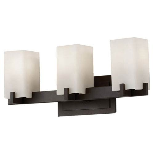 Riva Oil Rubbed Bronze Three-Light Bath Fixture