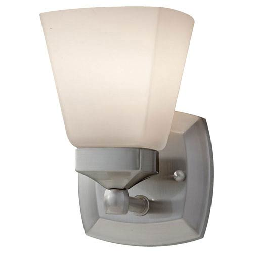 Feiss Delaney Brushed Steel  Vanity Light