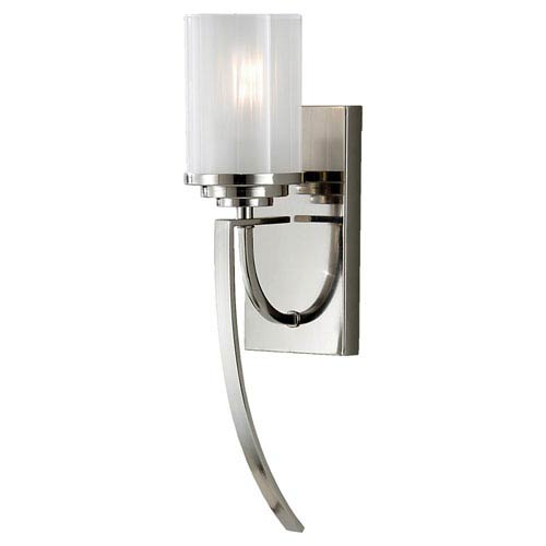Feiss Finley Polished Nickel One-Light Sconce