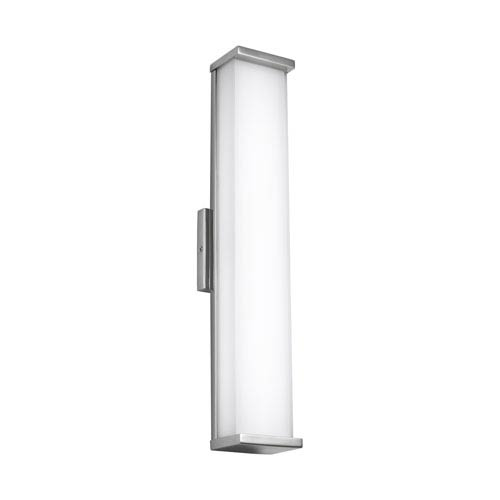 Altron Polished Stainless Steel 24-Inch LED Outdoor Wall Sconce