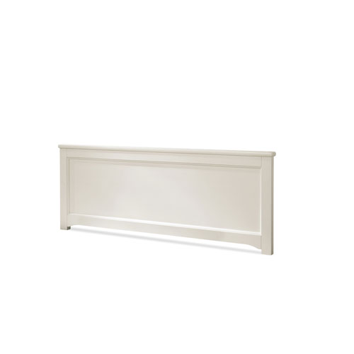 Genevieve French White Low Profile Full Footboard