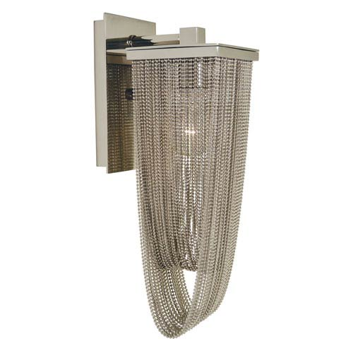 Genesis Polished Nickel 5-Inch One-Light Wall Sconce
