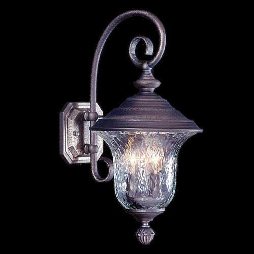 Carcassonne Siena Bronze Outdoor Small Wall-Mounted Lantern