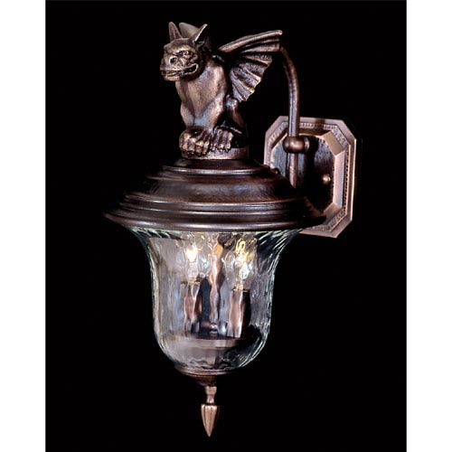 Carcassonne Small Outdoor Wall Lantern