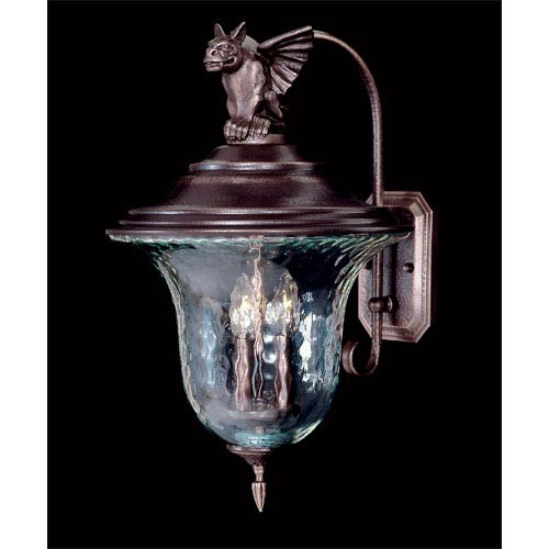 Carcassonne Large Outdoor Wall Lantern