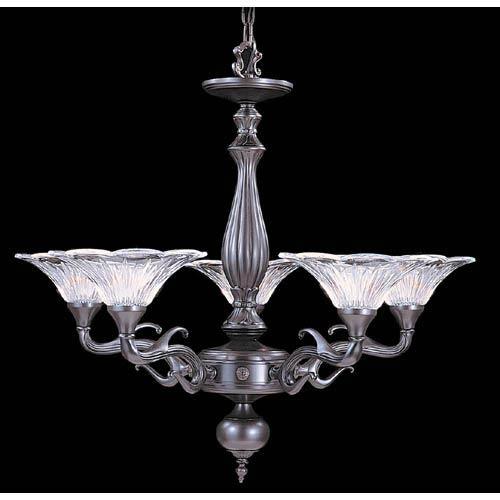 Geneva Mahogany Bronze Five-Light Chandelier