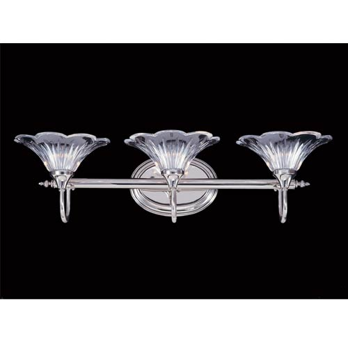 Geneva Three-Light Bath Fixture