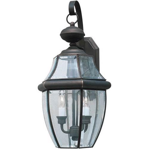 Royal Bronze Two-Light Outdoor Wall Lantern