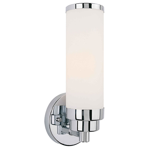 Forte Lighting Chrome One Light 4 5 Inch Wide Wall Sconce