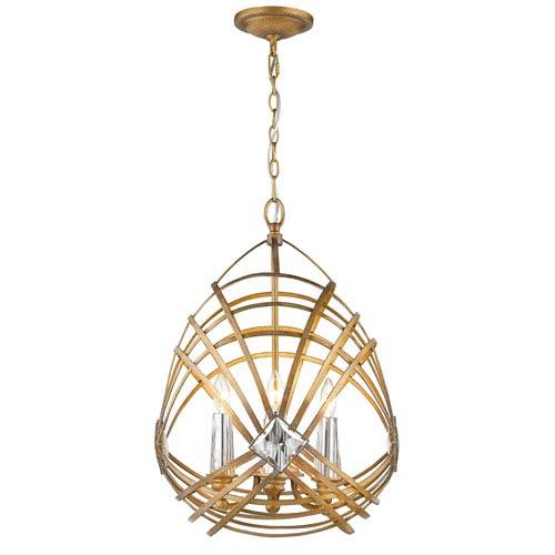 Signet Royal Gold Four-Light Pendant