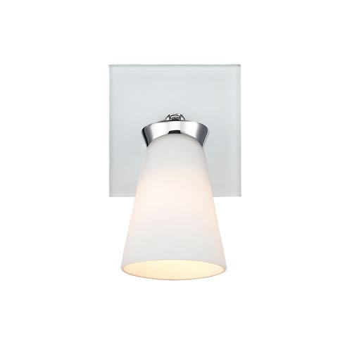 Iberlamp by Golden Opera Chrome One-Light Bath-Fixture