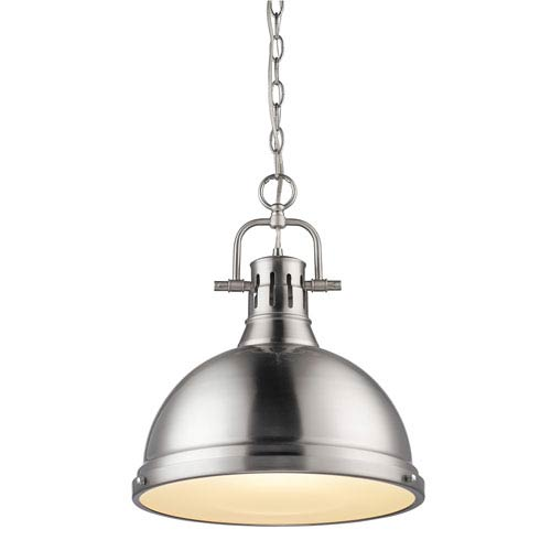 Duncan Pewter 16.5-Inch One Light Pendant
