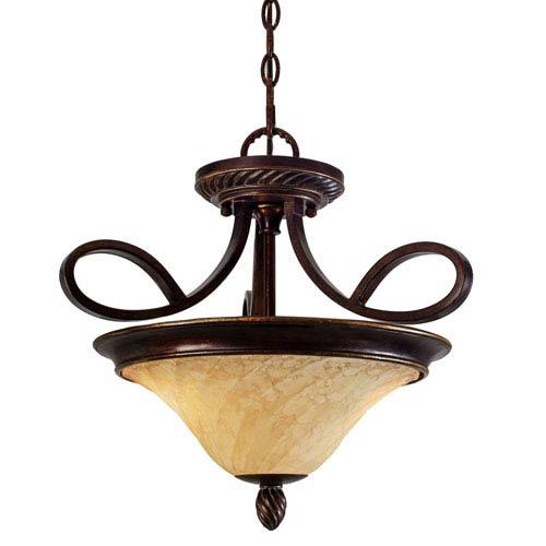 Golden Lighting Torbellino Convertible Semi-Flush/Pendant
