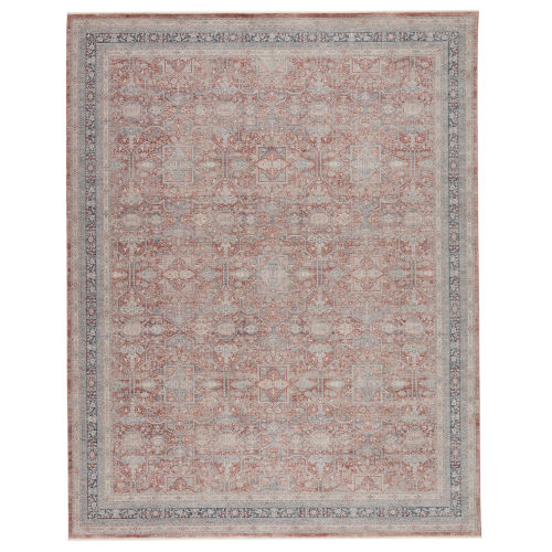 Winsome Brinson Oriental Red and Gray 3 Ft. x 8 Ft. Runner Rug