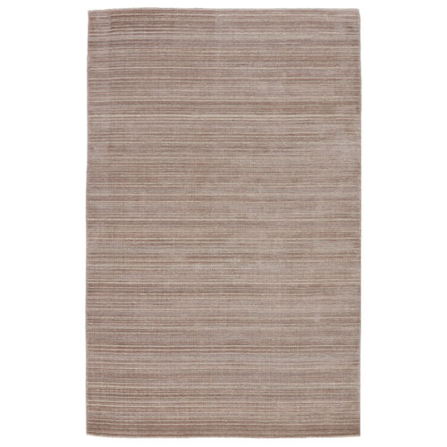 Second Sunset Gradient Solid Light Taupe and Gray 10 Ft. x 14 Ft. Area Rug
