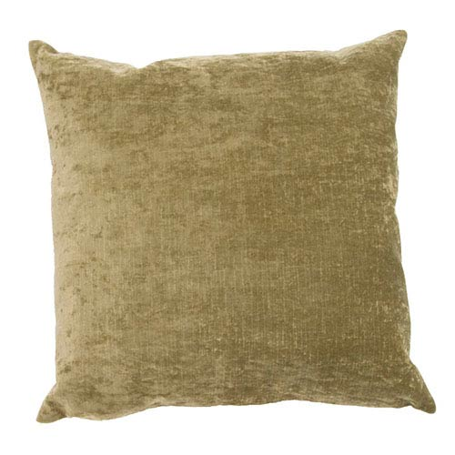 Luxe Leaf 20-Inch Decorative Pillow