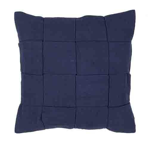 Jaipur Tabby Navy 22-Inch Decorative Pillow