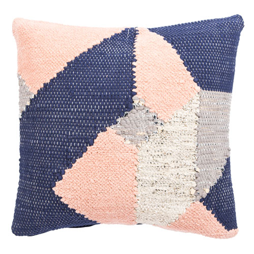 Cosmic by Nikki Chu Candied Ginger 22 In. Pillow with Down Fill