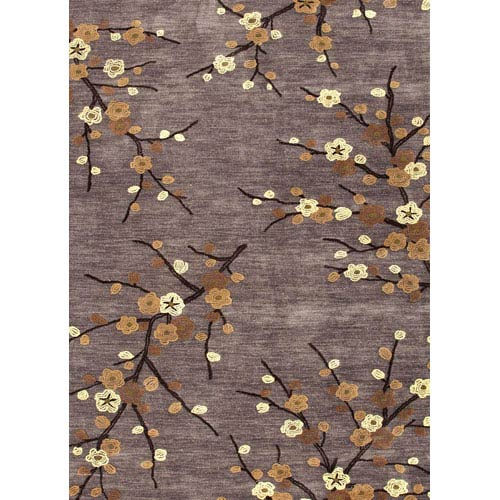 Jaipur Brio Gray and Yellow Rectangular: 5 Ft. x 7 Ft. 6 In. Rug