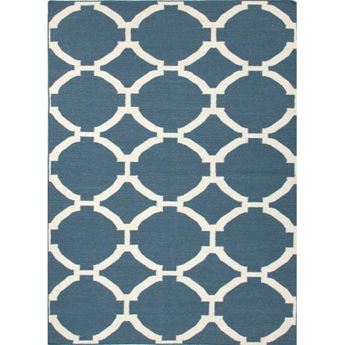 Jaipur Maroc Blue Rectangular: 5 Ft. x 8 Ft. Rug