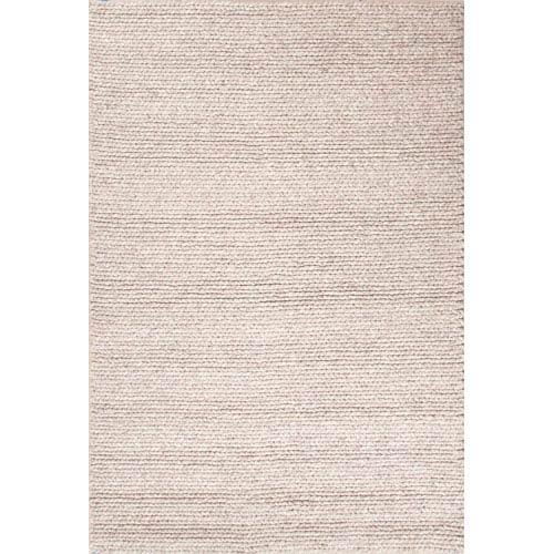 Jaipur Scandinavia Dula Light Gray Brown Rectangular: 5 Ft. x 8 Ft. Rug