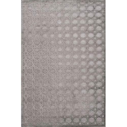 Jaipur Fables Gray Rectangular: 5 Ft. x 7 Ft. 6 In. Rug