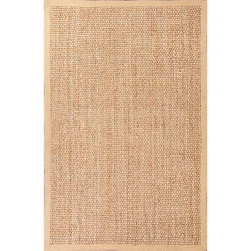 Jaipur Naturals Lucia Taupe and Light Tan Rectangular: 5 Ft. x 8 Ft. Rug