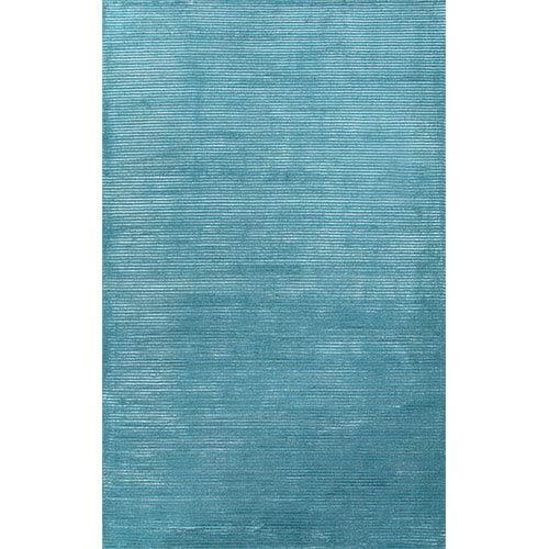 Jaipur Basis BI11 Deep Turquoise Rectangular: 10 Ft. x 14 Ft. Rug