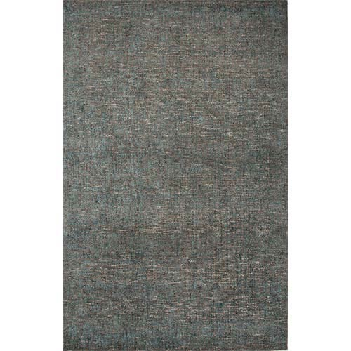 Britta Plus BRP02 Tahitian Blue and Taupe Rectangular: 5 Ft. x 8 Ft. Rug