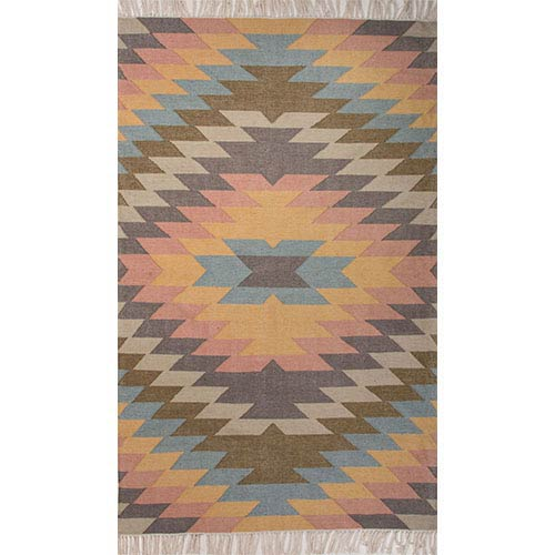 Desert DES02 Dusty Rectangular: 2 Ft. x 3 Ft. Rug