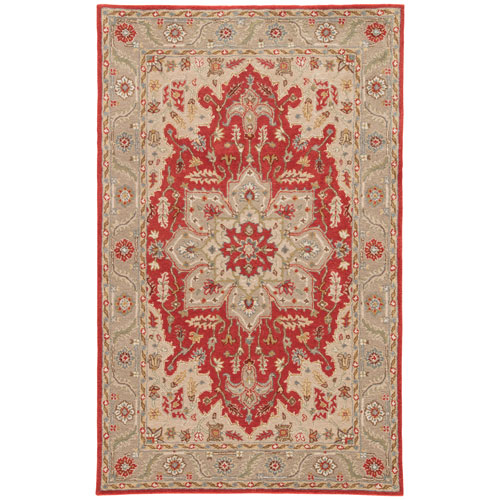 Poeme Orleans Autumn Glow Rectangular: 2 Ft. x 3 Ft. Rug