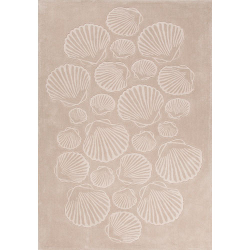 Coastal Tides Sable Oxford Tan Rectangular: 2 Ft. x 3 Ft. Rug