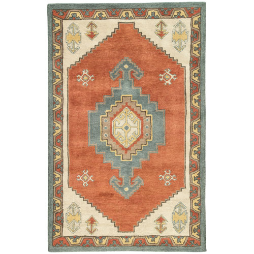 Preston Saratoga Apricot Orange Rectangular: 2 Ft. x 3 Ft. Rug