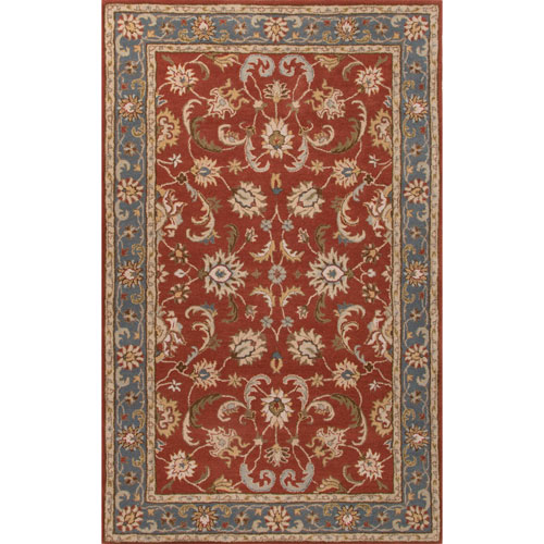 Poeme Normandy Rose Wood Rectangular: 2 Ft. x 3 Ft. Rug