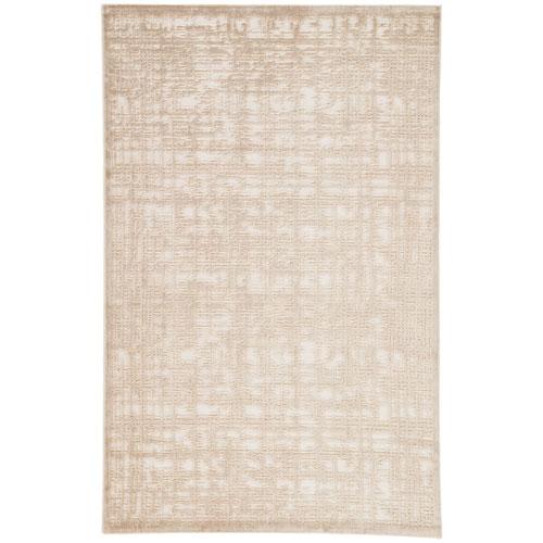 Jaipur Fables Dreamy Bright White Rectangular: 2 Ft. x 3 Ft. Rug