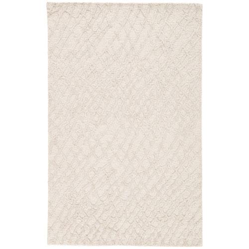 Jaipur Clayton Mesh Sandshell Rectangular: 9 Ft. 6 In. x 13 Ft. 6 In. Rug