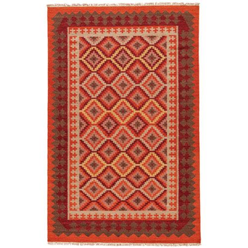 Jaipur Anatolia Izmir Jaffa Orange Rectangular: 9 Ft. x 12 Ft. Rug