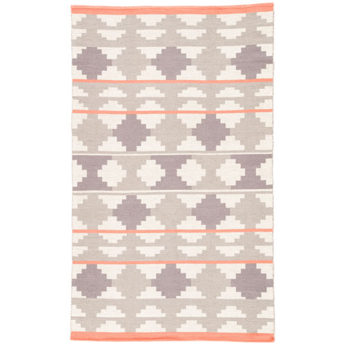 Traditions Made Modern Cotton Flat Weave Cusco Atmosphere Rectangular: 2 Ft. x 3 Ft. Rug
