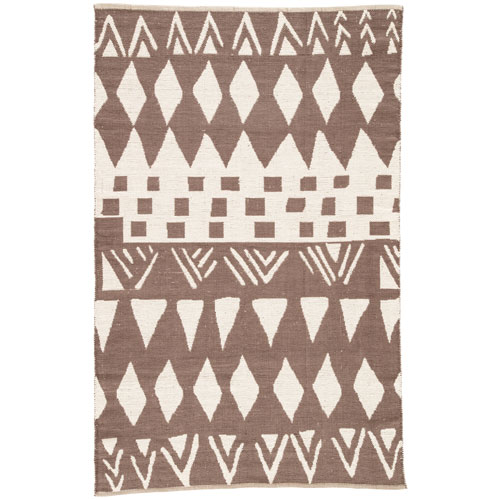 National Geographic Home Collection Tiebele Slate Black Rectangular: 2 Ft. x 3 Ft. Rug