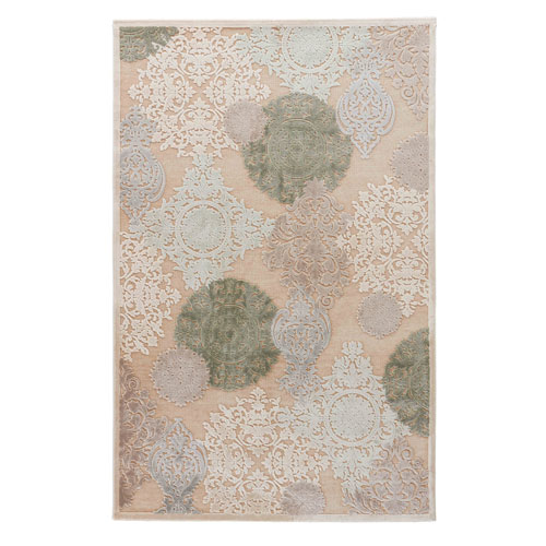 Fables Wistful Warm Sand Runner: 2 Ft. 6 In. x 10 Ft. Rug