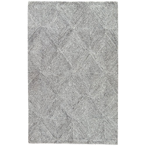 Traditions Made Modern Tufted EXHIBITION Whisper White Rectangular: 2 Ft. x 3 Ft. Rug