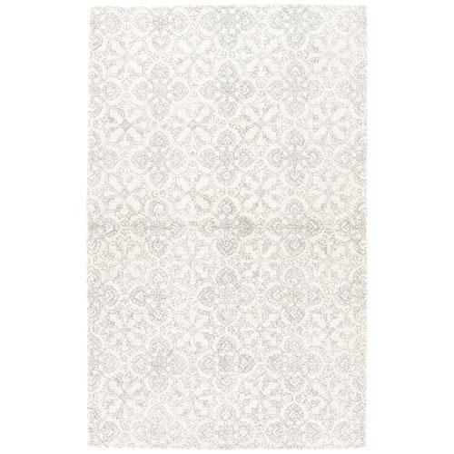 Jaipur Ashland Select Dover Vaporous Gray Rectangular: 2 Ft. x 3 Ft. Rug