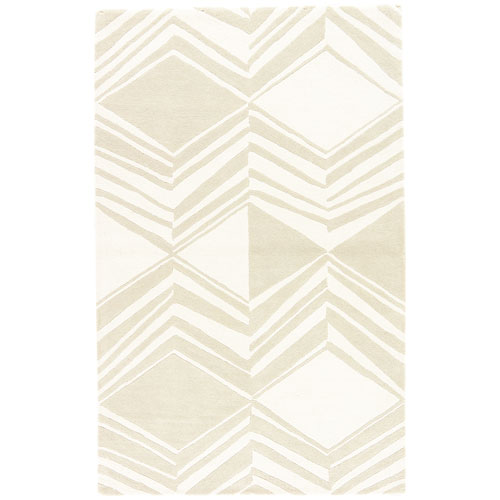 Traditions Made Modern Tufted Graphix Pelican Rectangular: 2 Ft. x 3 Ft. Rug