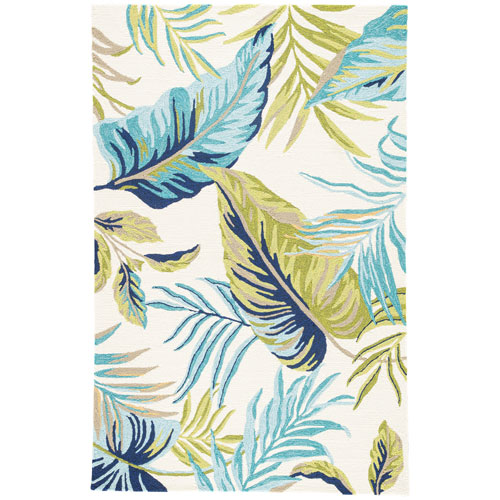 Catalina Fraise Egret Rectangular: 2 Ft. x 3 Ft. Rug