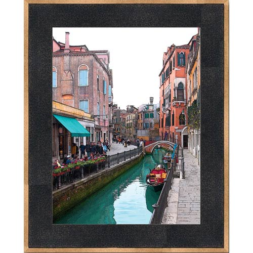 Afternoon on the Canal by Bonnie Adams: 15 x 21 Framed Giclee Canvas