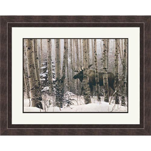 Hadley House Walk In The Woods by Steve Lyman: 16 x 14 Framed Print Reproduction